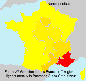Surname Ganichot in France