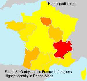Surname Garby in France