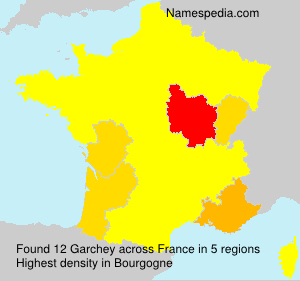 Surname Garchey in France