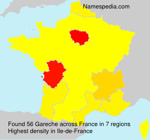 Surname Gareche in France