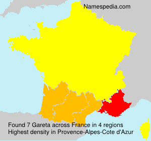 Surname Gareta in France