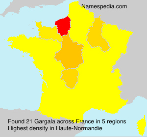 Surname Gargala in France