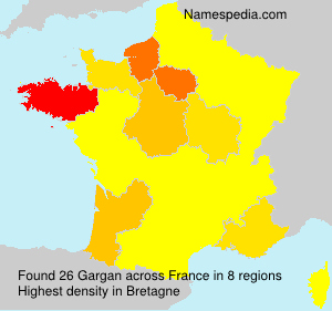 Surname Gargan in France