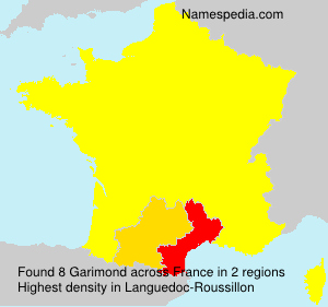 Surname Garimond in France