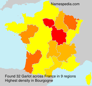 Surname Garlot in France