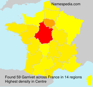 Surname Garrivet in France