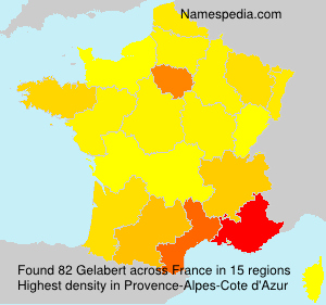 Surname Gelabert in France