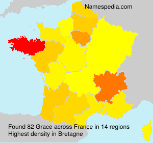Surname Grace in France