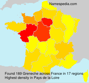 Surname Greneche in France