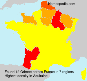 Surname Grimee in France