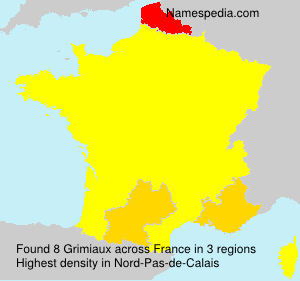 Surname Grimiaux in France