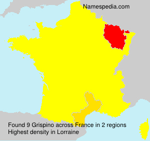 Surname Grispino in France
