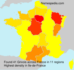 Surname Grivois in France