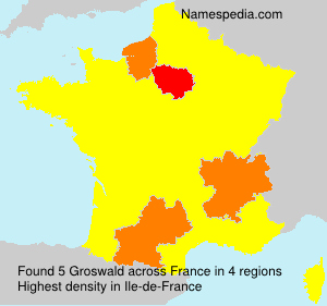 Surname Groswald in France