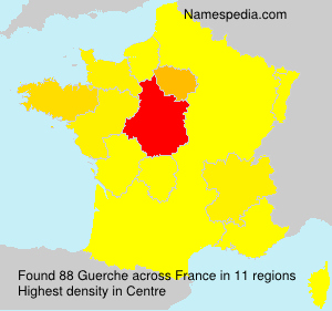 Surname Guerche in France