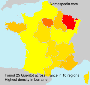 Surname Gueritot in France