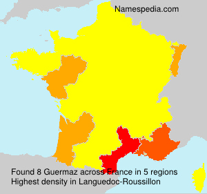 Surname Guermaz in France