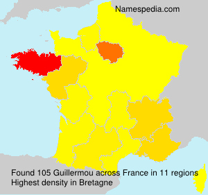 Surname Guillermou in France