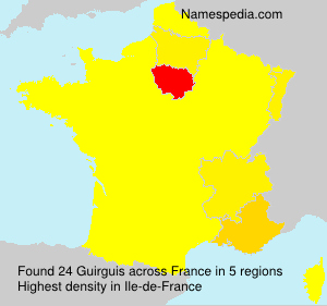 Surname Guirguis in France