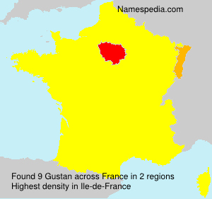 Surname Gustan in France