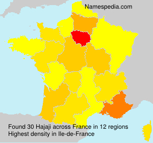 Surname Hajaji in France