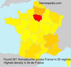 Surname Hamadouche in France