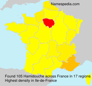 Surname Hamidouche in France