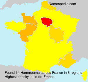 Surname Hammouma in France