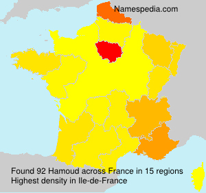 Surname Hamoud in France