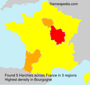 Surname Harchies in France