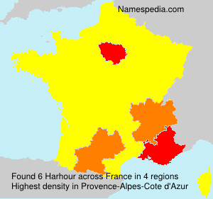 Surname Harhour in France