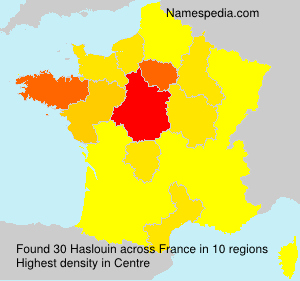 Surname Haslouin in France