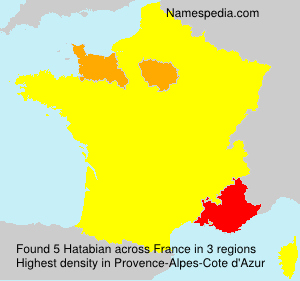 Surname Hatabian in France