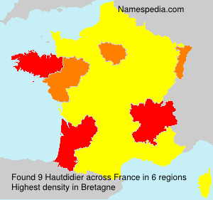 Surname Hautdidier in France