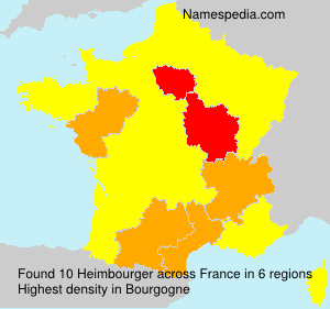 Surname Heimbourger in France