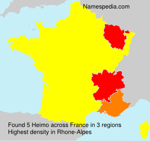 Surname Heimo in France