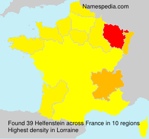 Surname Helfenstein in France