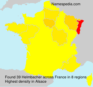 Surname Helmbacher in France