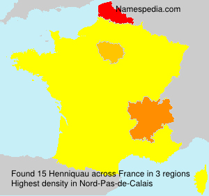 Surname Henniquau in France