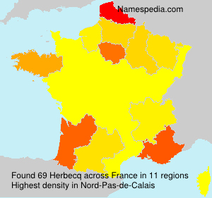Surname Herbecq in France