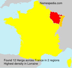 Surname Herga in France