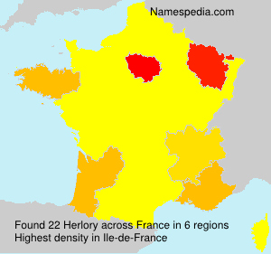 Surname Herlory in France