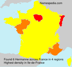 Surname Hermanne in France