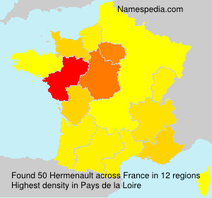 Surname Hermenault in France