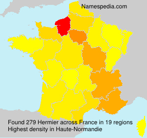 Surname Hermier in France