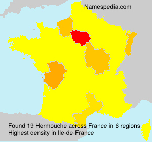 Surname Hermouche in France