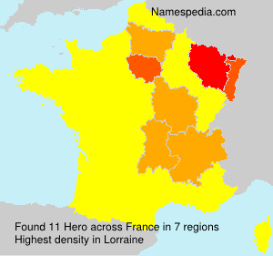 Surname Hero in France