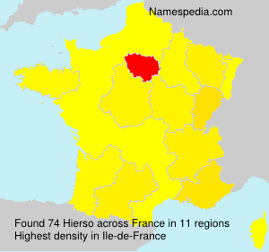 Surname Hierso in France