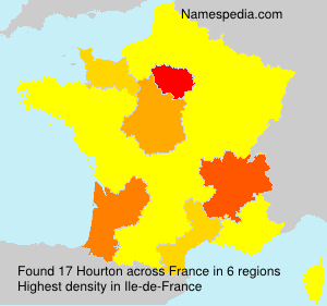 Surname Hourton in France