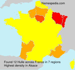 Surname Hulle in France